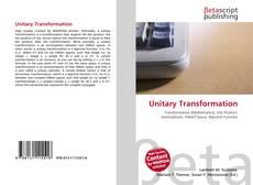 Unitary Transformation kitap kapağı