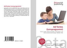 Copertina di Ad fontes (Lernprogramm)