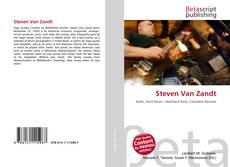 Bookcover of Steven Van Zandt
