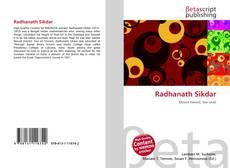 Buchcover von Radhanath Sikdar