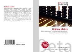 Unitary Matrix kitap kapağı