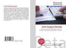 Capa do livro de Unit Tangent Bundle