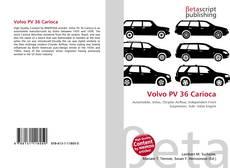 Bookcover of Volvo PV 36 Carioca