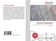 Couverture de Poincaré Inequality