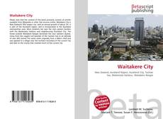 Bookcover of Waitakere City
