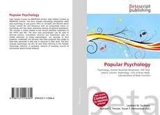 Bookcover of Popular Psychology