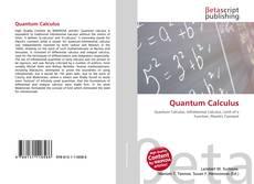 Portada del libro de Quantum Calculus