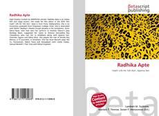 Radhika Apte kitap kapağı