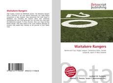 Bookcover of Waitakere Rangers