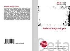 Bookcover of Radhika Ranjan Gupta
