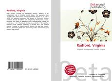 Bookcover of Radford, Virginia
