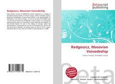 Portada del libro de Radgoszcz, Masovian Voivodeship
