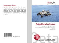 Bookcover of Actophilornis africana