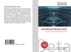 Capa do livro de Variational Monte Carlo