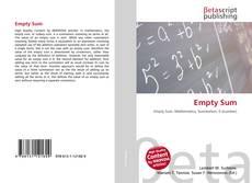 Bookcover of Empty Sum