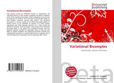 Bookcover of Variational Bicomplex