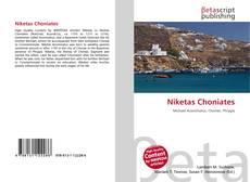 Bookcover of Niketas Choniates