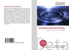 Bookcover of Variance Gamma Process