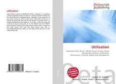 Bookcover of Utilization