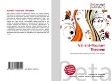 Bookcover of Valiant–Vazirani Theorem