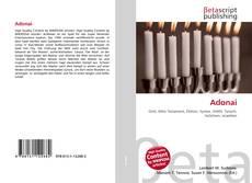 Bookcover of Adonai
