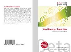 Bookcover of Van Deemter Equation