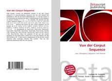 Capa do livro de Van der Corput Sequence