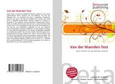 Borítókép a  Van der Waerden Test - hoz