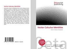 Bookcover of Vector Calculus Identities