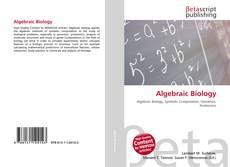 Bookcover of Algebraic Biology