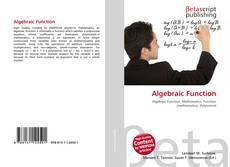 Bookcover of Algebraic Function