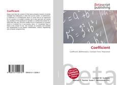 Borítókép a  Coefficient - hoz