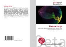 Capa do livro de Nicolae Iorga
