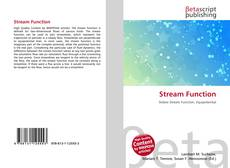 Bookcover of Stream Function