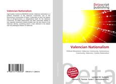 Bookcover of Valencian Nationalism