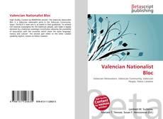 Buchcover von Valencian Nationalist Bloc