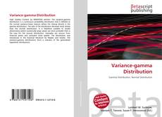 Capa do livro de Variance-gamma Distribution
