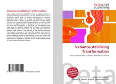 Capa do livro de Variance-stabilizing Transformation