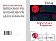 Ophélie Bretnacher Disappearance kitap kapağı