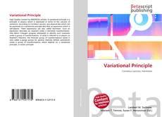 Capa do livro de Variational Principle