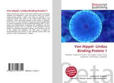 Bookcover of Von Hippel- Lindau Binding Protein 1