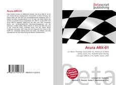 Bookcover of Acura ARX-01