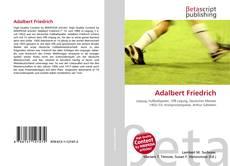 Bookcover of Adalbert Friedrich