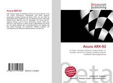 Обложка Acura ARX-02