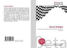 Bookcover of Acura Integra