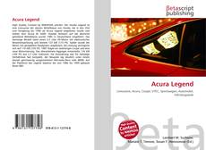 Bookcover of Acura Legend
