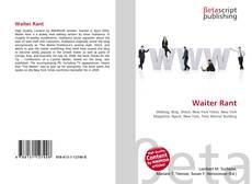Buchcover von Waiter Rant