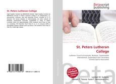 Portada del libro de St. Peters Lutheran College