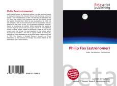 Borítókép a  Philip Fox (astronomer) - hoz