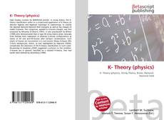 Bookcover of K- Theory (physics)